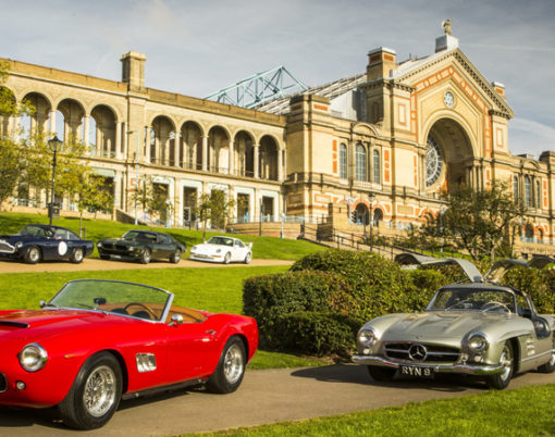Alexandra Palace will host the Classic Car Show at the end of October 2015.