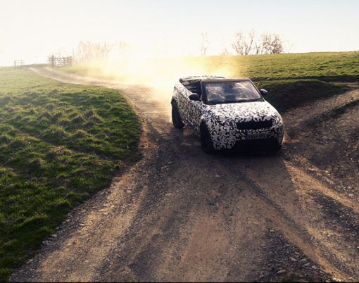 The Evoque Convertible handles land and water in new video provided by Land Rover.