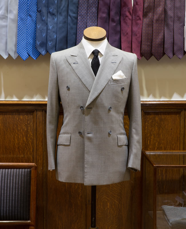 The public have the opportunity to view the iconic suit via a window display at 11 Savile Row