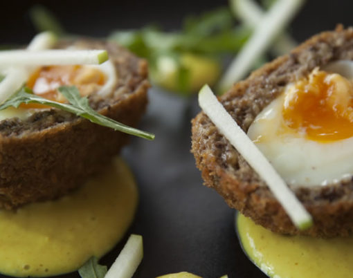 Scotch egg at The Rose & Crown in Yealmpton
