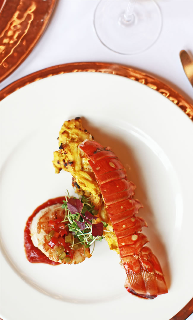 Grilled Lobster tail at Tamarind Mayfair