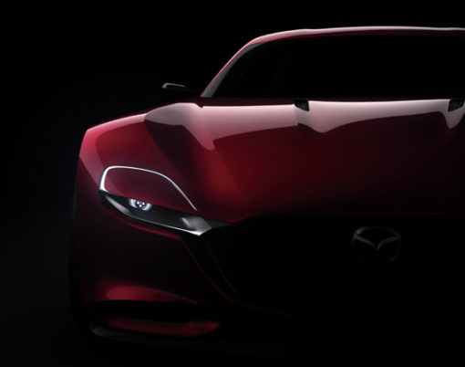 Rotary-engines make a comeback with Mazda with the Mazda RX-VISION Concept.