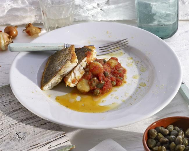 Caper & tomato yachni
