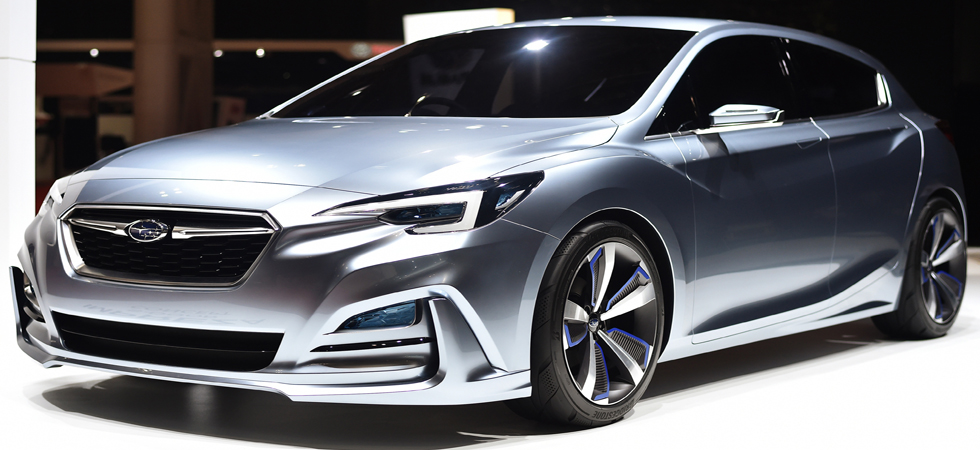 The Impreza 5-door Concept made it's debut at the 44th Tokyo Motor Show.
