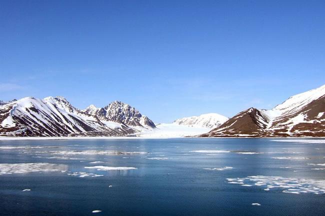 Arctic coast Norway