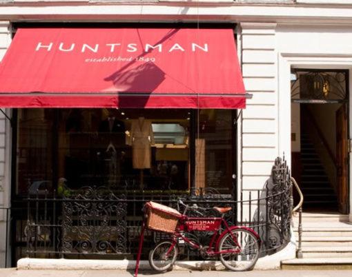 Huntsman shop front Savile Road