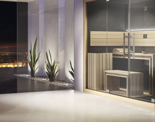 luxury sauna