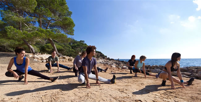 Based in the north of Ibiza, 38 Degrees North offer fitness holidays on a residential and non-residential basis