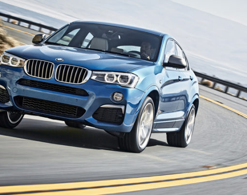 Set to reach the market in 2016 is the BMW X4 M40i.