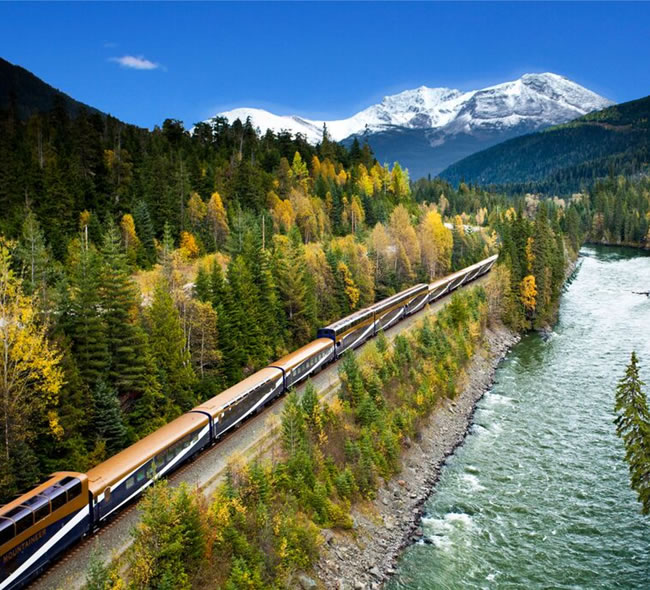 Rocky Mountain Train Journey