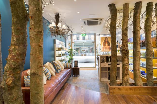 Edward James Aveda salons  london
