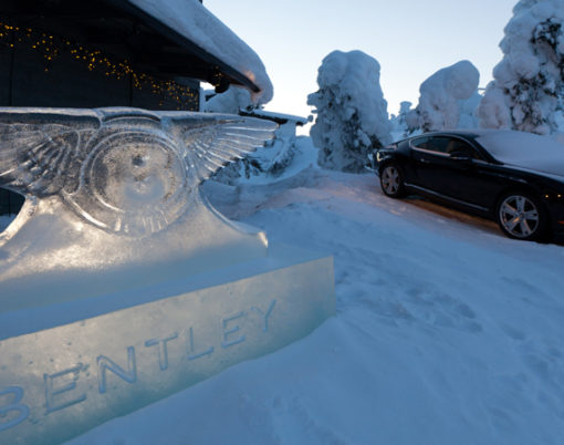Bentayga set to wow in Finnish luxury trip in February 2016.