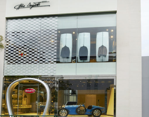 Global Exclusive, AOI Group and Bugatti introduce world first for the Bugatti brand.