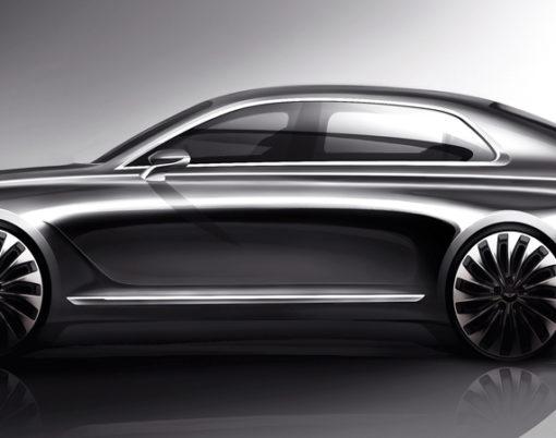 Hyundai unveil luxury Sedan the G90.