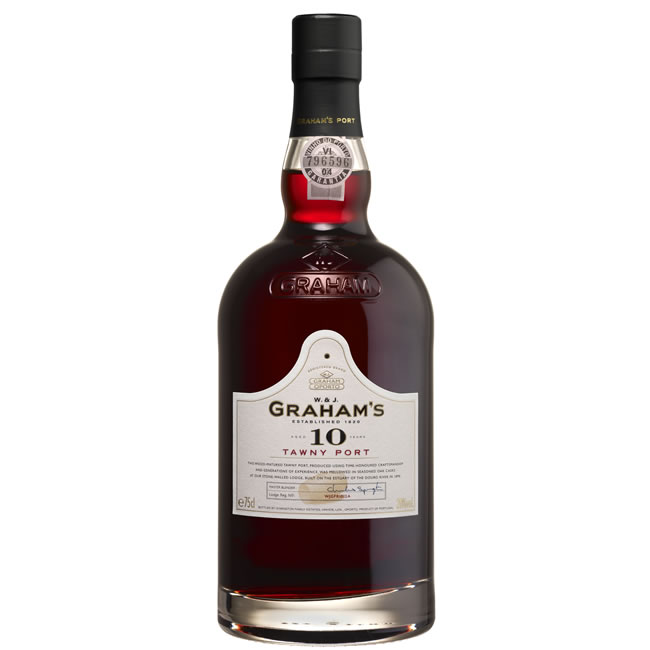 Graham's 10 Year Old Tawny Port (75cl)