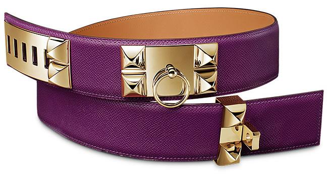 Collier de Chien women's belt