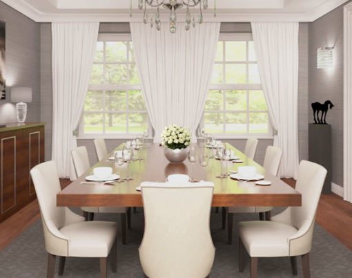 Luxury dining rooms: How to create a stunning entertaining space