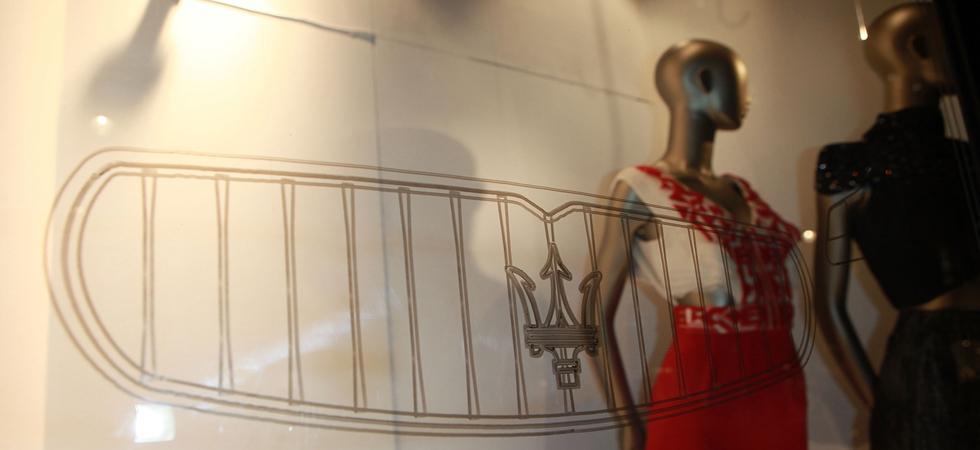Maserati collaborate with LDNY and Liberty with week long bespoke window display.