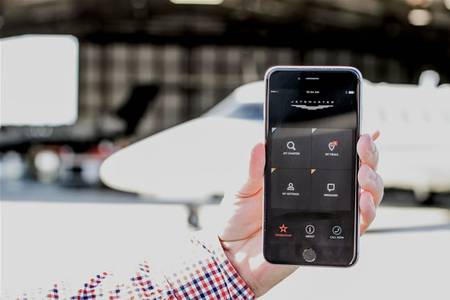 The popular app seamlessly connects travellers to luxury air travel, allowing users to request, fly and pay for a private jet in seconds.
