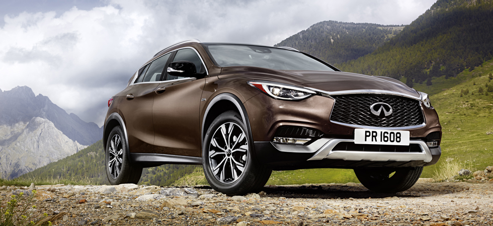 Infiniti continue to make their mark on the luxury motoring market with the QX30.