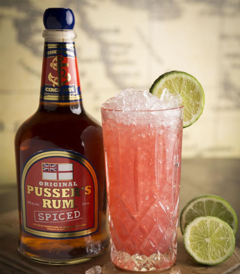 Pusser's Rum Spiced.