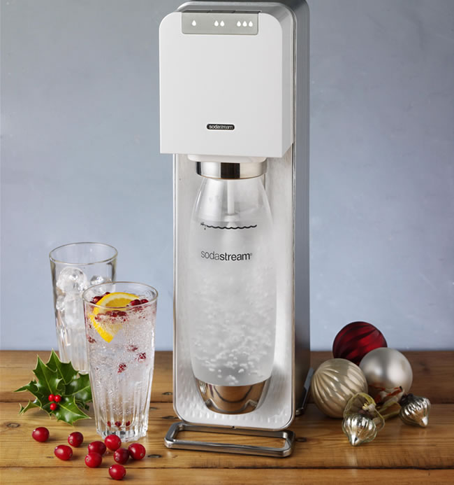 add a touch of sparkle to your christmas with sodastream. Black Bedroom Furniture Sets. Home Design Ideas