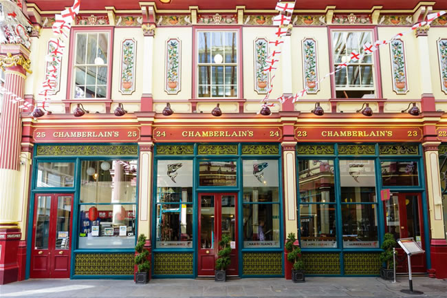 Chamberlain's restaurant first opened in Leadenhall in 2001