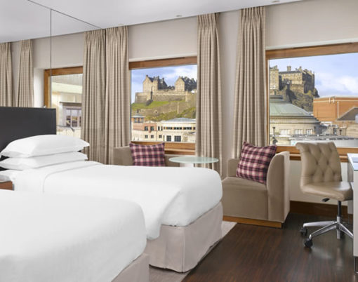 Sheraton Grand Hotel & Spa in Edinburgh, Scotland