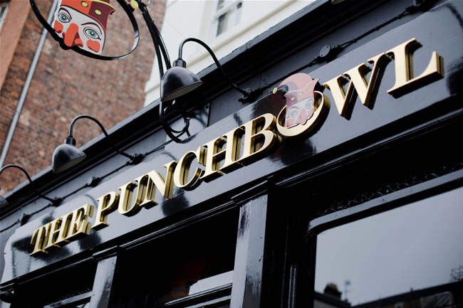 The Punchbowl, Mayfair in London