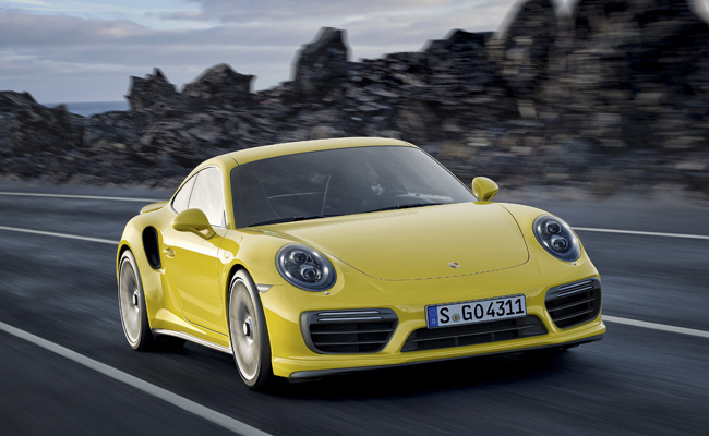 Time to Turbo with the Porsche 911.