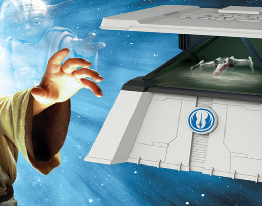 Live your Star wars dream through a holographic experience.