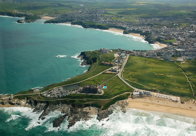 headland hotel in newquay - on fistral beach