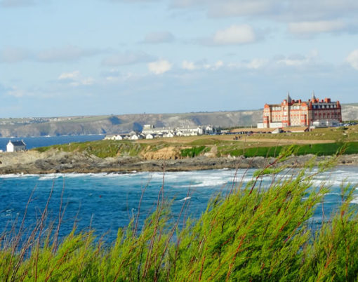 The Headland Hotel, Newquay in Cornwall