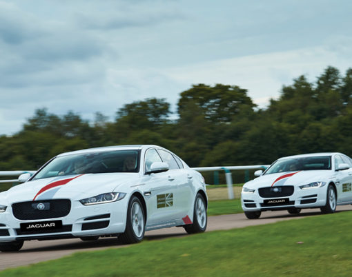 Start as you mean to go on with a luxury car to learn to drive thanks to the Jaguar First program.