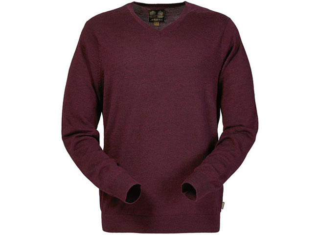 Musto Lightweight Merino V-neck Knit