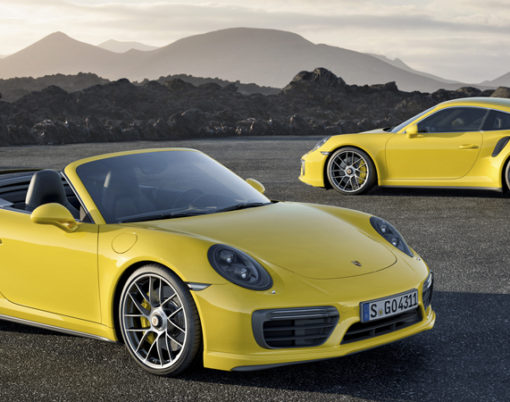 The 911 Turbo undergoes a makeover for January release.
