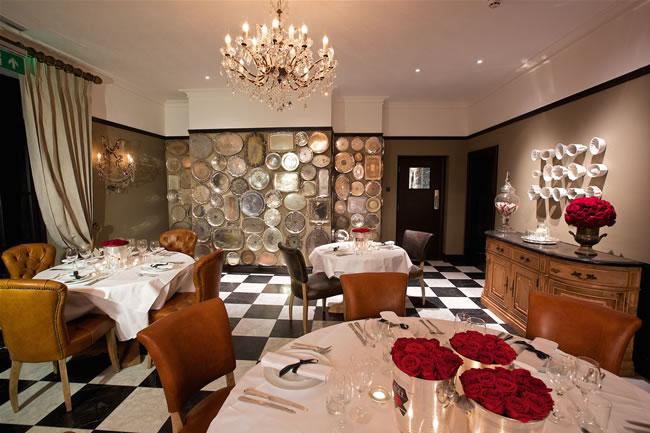 the restaurant at the glazebrook house hotel in devon