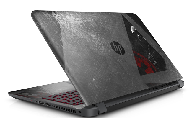 Star Wars meets modern day technology with the new special edition HP Notebook.