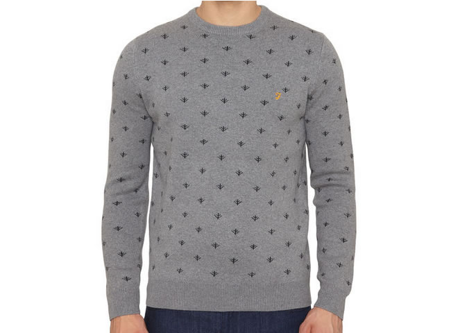 The Coppice Fairisle Sweater Crew Neck