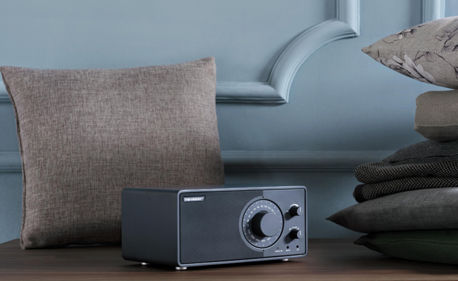 The+Radio pays homage to the history of the radio with a modern twist.