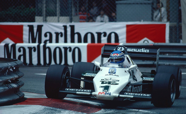 Witness a piece of F1 history in front of your eyes at the FW08C races around the live action arena.