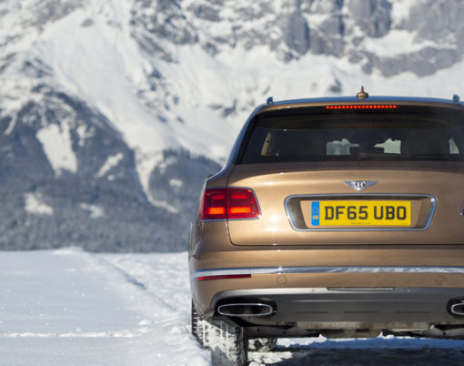 Bentley Bentayga appears at world famous SKI event.