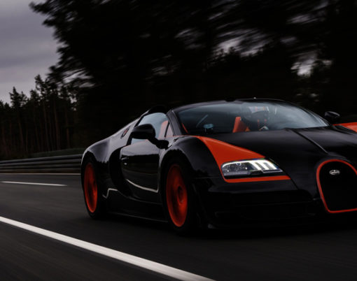 Highly rare and exclusive Bugatti Veyron available for sale at H.R. Owen London.