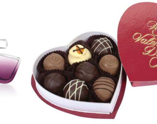 Credit Vermont Nut-free Chocolates and Elizabeth Arden