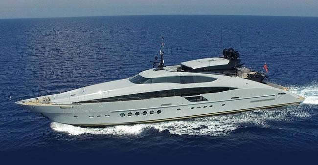 Grey Matters luxury yacht