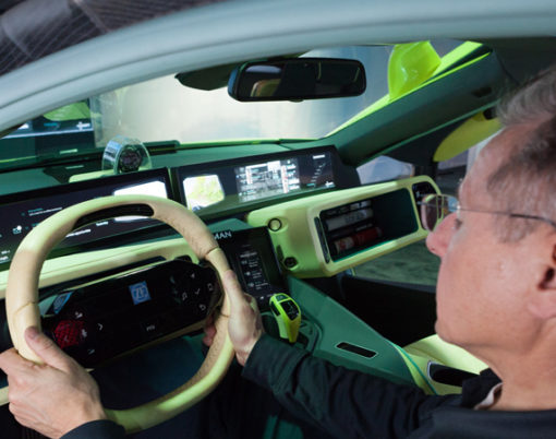 Aiming to reduce tired driving, HARMAN introduce pupil tracking technology.