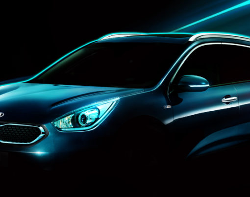 HUV technology gets glamorous with Kia.
