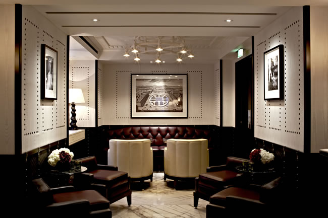 London Marriott Hotel Grosvenor Square luggage room