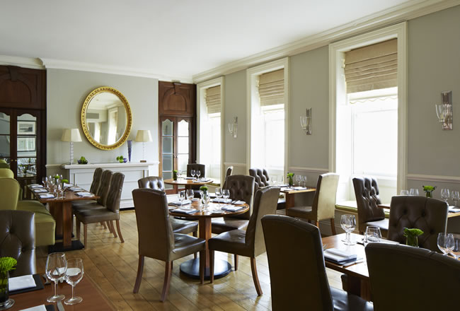 Olivier's Restaurant at The Woburn Hotel