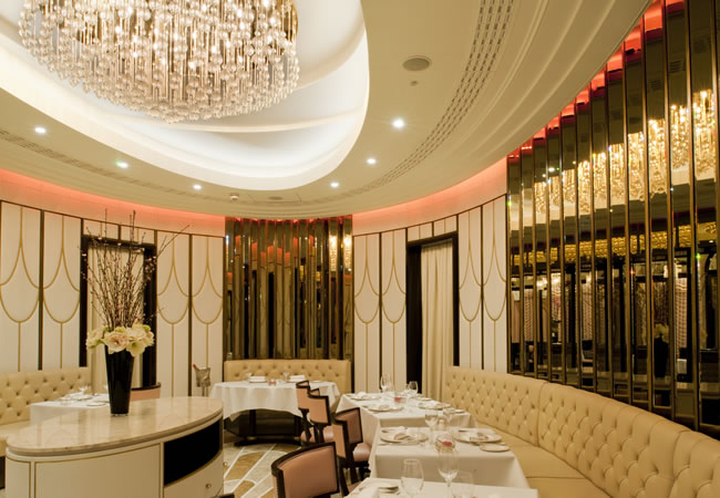Oval Restaurant at The Wellesley, Knightsbridge in London